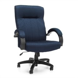 OFM Stature Series Executive High Back Conference Chair in Navy