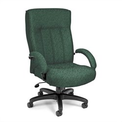 OFM Big and Tall Executive High-Back Office Chair in Green