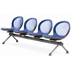 OFM Net Beam Guest Chair With 4 Seats in Marine