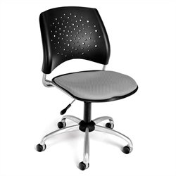 OFM Star Swivel Office Chair in Putty