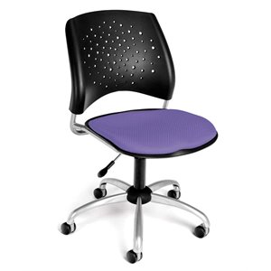 Swivel Office Chair in Lavender