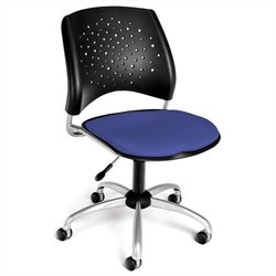 OFM Star Swivel Office Chair in Colonial Blue