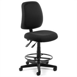 OFM Posture Task Chair with Drafting Kit in Black