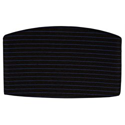 OFM Striped Back Cushion in Blue