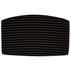 OFM Striped Back Cushion in Green