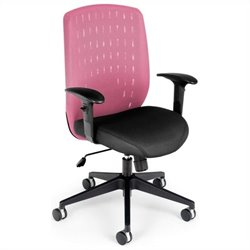 OFM Vision Executive Chair in Pink