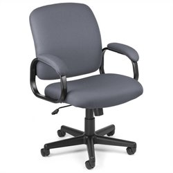 OFM Executive Low-back Task Office Chair in Gray