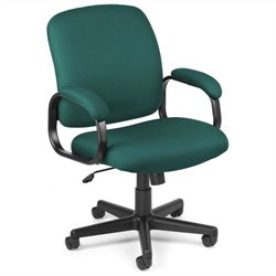 OFM Executive Low-back Task Office Chair in Teal