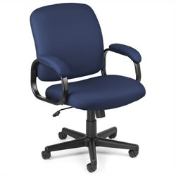 OFM Executive Low-back Task Chair in Navy