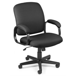 OFM Executive Low-back Task Office Chair in Black
