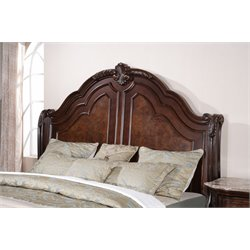 Samuel Lawrence Edington Sleigh Headboard in Brown-B