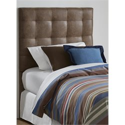 Samuel Lawrence Maverick Upholstered Panel Headboard in Brown-K