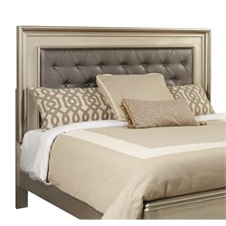 Samuel Lawrence Diva Faux Leather Upholstered Panel Headboard