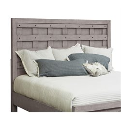 Samuel Lawrence Prospect Hill Panel Headboard in Gray