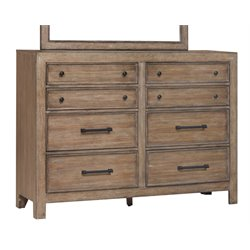 Samuel Lawrence Flatbush Hill 8 Drawer Dresser