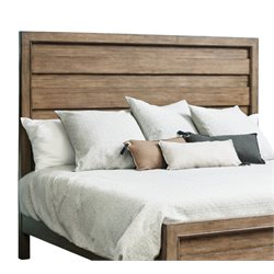 Samuel Lawrence Flatbush Panel Headboard in Brown