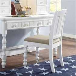 Samuel Lawrence Furniture SummerTime Desk Chair in White