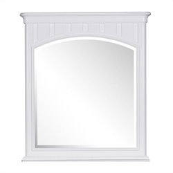 Samuel Lawrence Furniture SummerTime Landscape Mirror in White