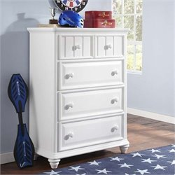 Samuel Lawrence Furniture SummerTime Drawer Chest in White
