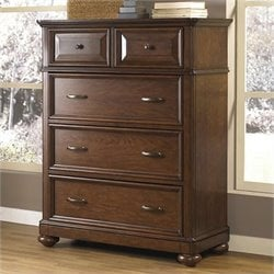 Samuel Lawrence Furniture Expedition Drawer Chest in Cherry