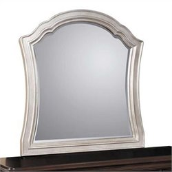 Samuel Lawrence Furniture Girls Glam Landscape Mirror in Silver