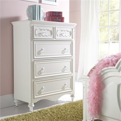 Samuel Lawrence Furniture SweetHeart Drawer Chest in White