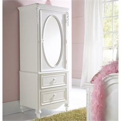 Samuel Lawrence Furniture SweetHeart Door Wardrobe in White