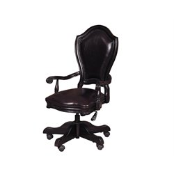 Samuel Lawrence Lexington Desk Chair in Black