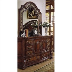 Samuel Lawrence San Marino Dresser in Dark Brown