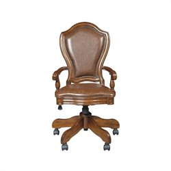 Samuel Lawrence Madison Office Chair in Brown