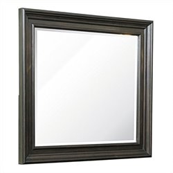 Samuel Lawrence Monarch Mirror in Black