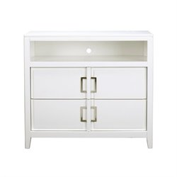 Samuel Lawrence Furniture Brighton TV Stand in White