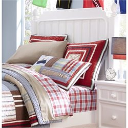 Samuel Lawrence SummerTime Full Poster Headboard in White