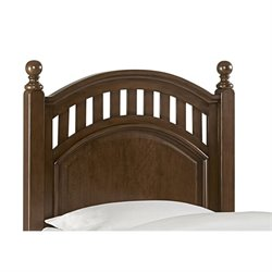 Samuel Lawrence Expedition Twin Poster Headboard in Brown