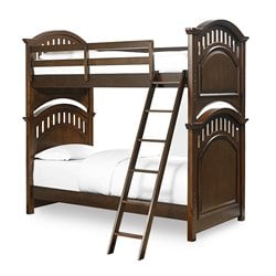 Samuel Lawrence Expedition Twin Over Twin Bunk Bed in Brown