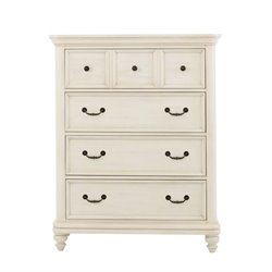 Samuel Lawrence Madison 4 Drawer Chest in White