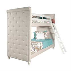 Samuel Lawrence Madison Twin Bunk Bed in White