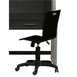 Samuel Lawrence Graphite Office Chair in Brown