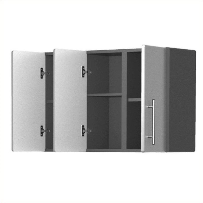 Ulti-MATE Storage 3-Door Wall Cabinet in Starfire Pearl