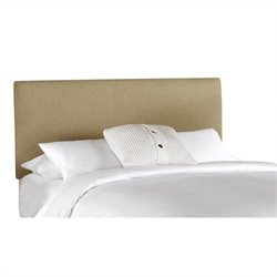 Skyline Furniture Panel Headboard in Beige - Full