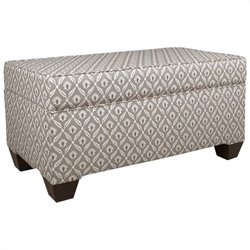 Skyline Furniture Storage Bench in Macon