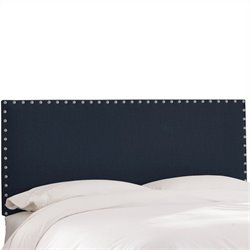 Skyline Furniture Headboard in Navy - Twin