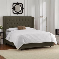 Skyline Furniture Bed in Pewter