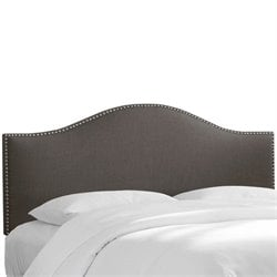 Skyline Nail Panel Headboard in Gray
