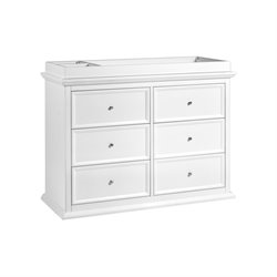 Million Dollar Baby Classic Foothill-Louis 6 Drawer Changer Dresser