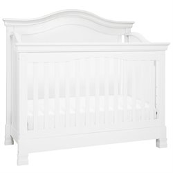 Million Dollar Baby Classic Louis 4 in 1 Convertible Crib in White