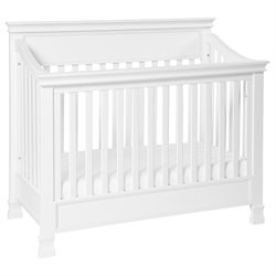 Million Dollar Baby Classic Foothill 4 in 1 Convertible Crib in White
