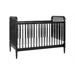 Million Dollar Baby Classic Liberty 3 in 1 Convertible Crib in Black