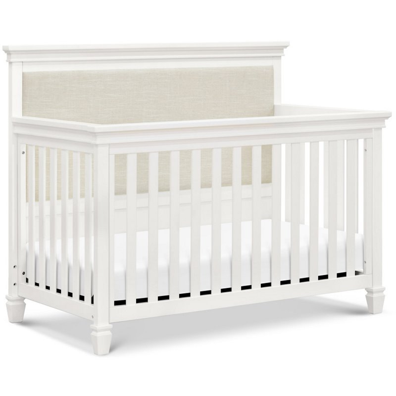 Million Dollar Baby Classic Darlington 4 In 1 Convertible Crib In Warm White