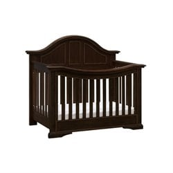 Million Dollar Baby Classic Tilsdale 4 in 1 Convertible Crib in Walnut